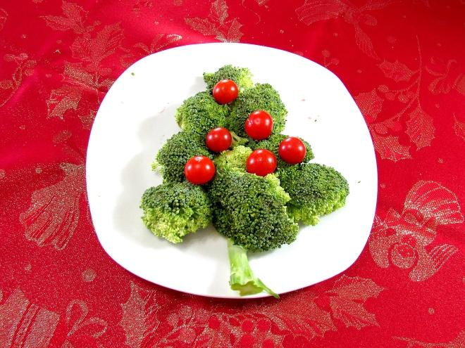 àrvore de brócolis